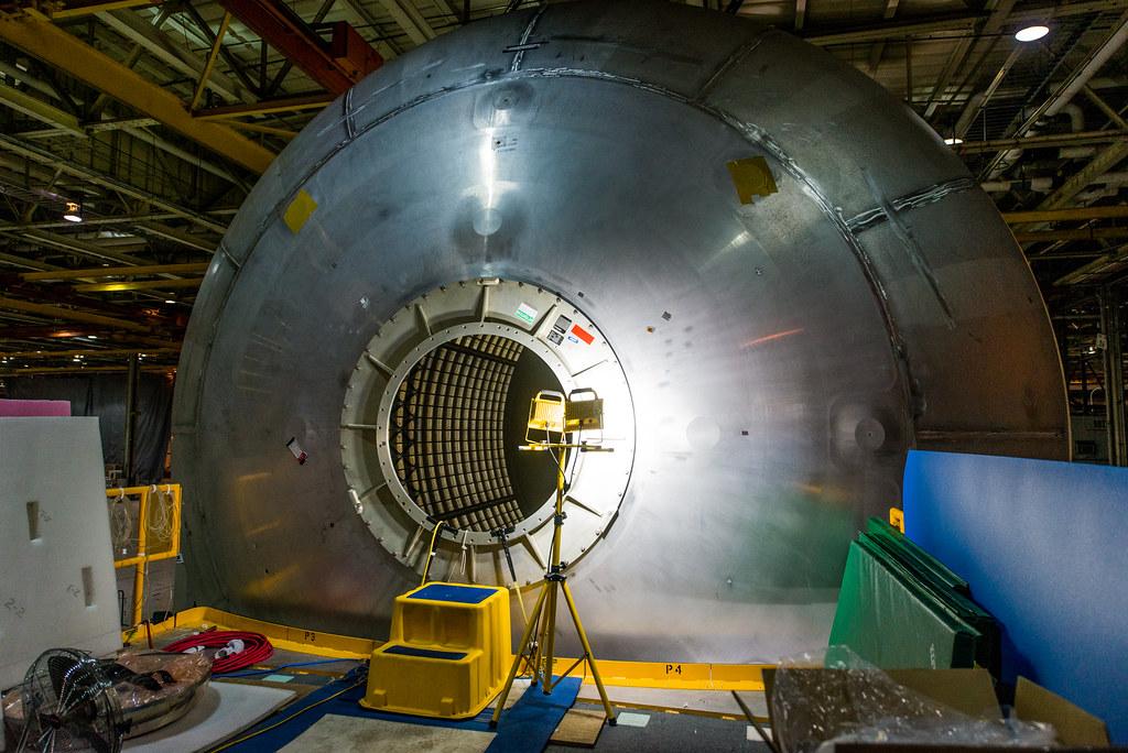 Liquid Oxygen Tank Exterior