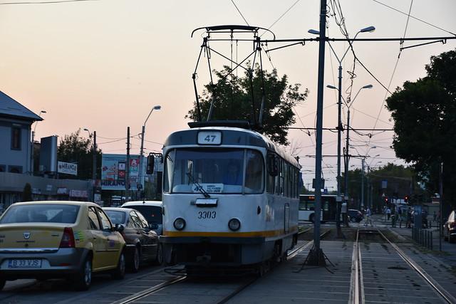 TATRA T4R 3303 - STB - linia 47