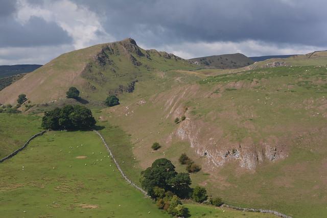 Chrome Hill, Peak District National Park, Derbyshire, England.