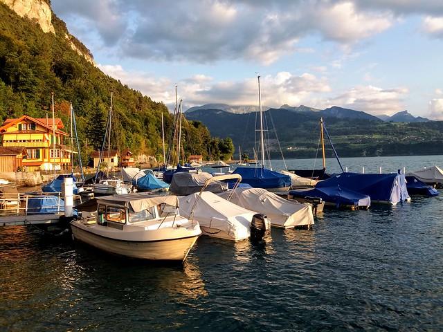 Little harbour of Merligen