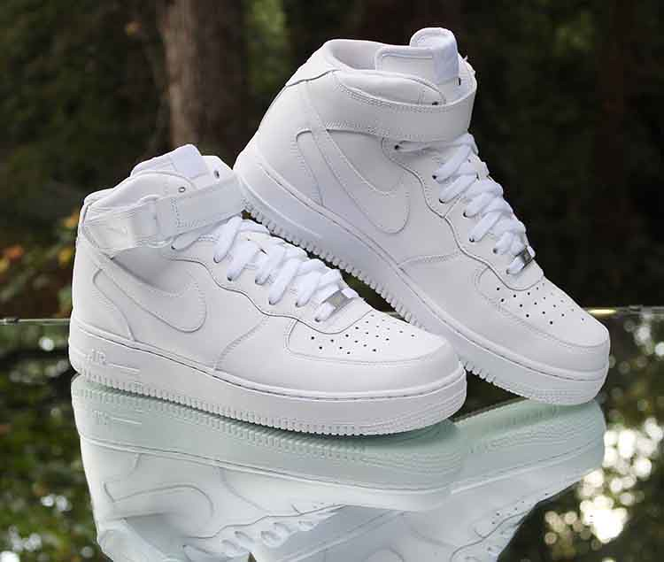 wholesale dealer e904e 211be ... Nike Air Force 1 Mid  07 White 315123-126 Men s Size 10   by