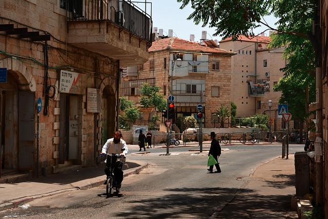 Jerusalem / Shivtei Israël Street / Orthodox Jewish District