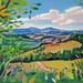 'Harvest time', 75.5cmx50cm, Oil on board
