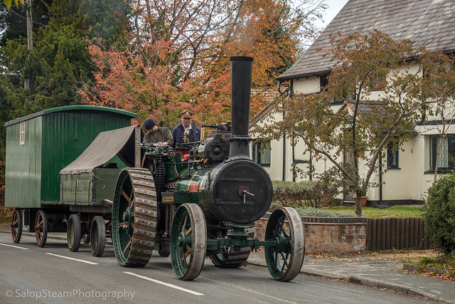 Crown Inn Steam Up, Goostrey