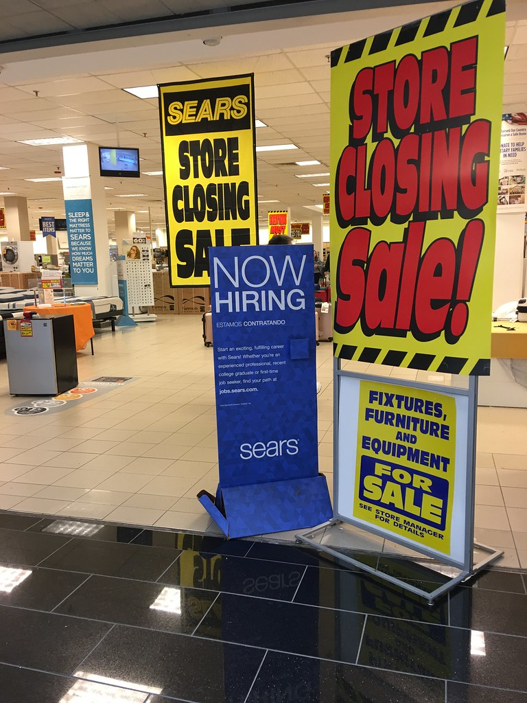 Holyoke Mall Sears Going out of Business | Austin Dodge | Flickr