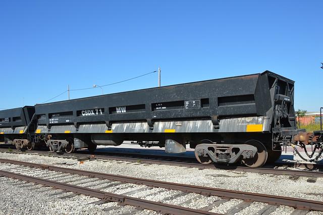 Poop Wagon CSDX 71, Stickney Illinois