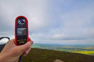 The Roaches - Peak District - ClimeMET Wind Meter | by www.beckythetraveller.com