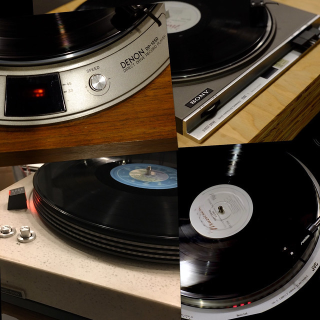 70s direct drive turntables