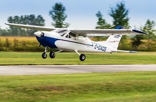 C-GAQS au décollage de St-Lazare   by daniel523