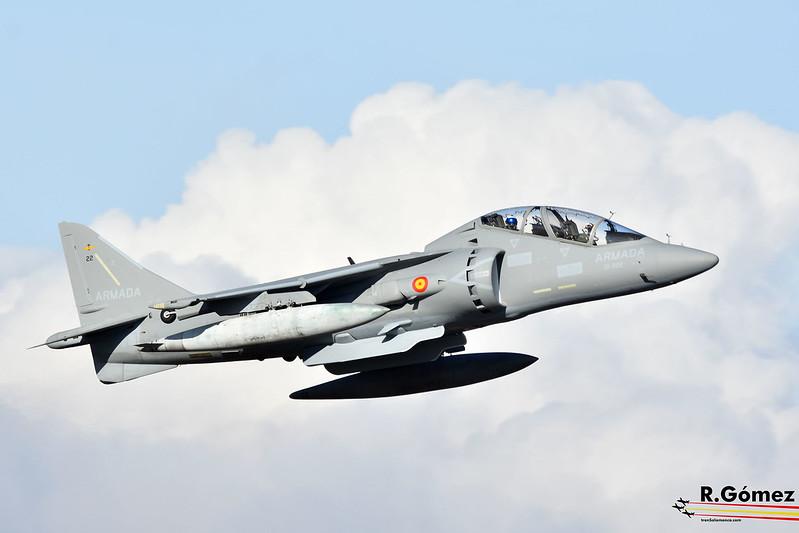 Harrier 9ª  Escuadrilla de la ARMADA