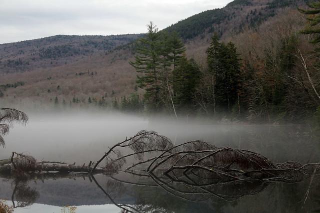 Overcast, misty day - 11/2/18