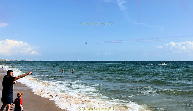 The Red Arrows at the Bournemouth Air Festival  August 31st 2018, Bournemouth Undercliff Drive, Bournemouth Beach, Dorset. England.