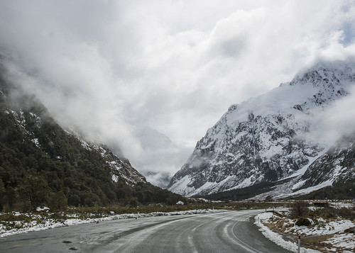 lisaridings fantommst fiordland national park southland nz newzealand southisland icy snow mountains cloudy weather