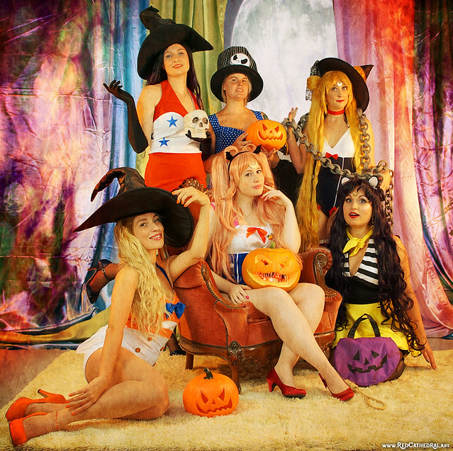 Happy Halloween from the Ladies of the Night