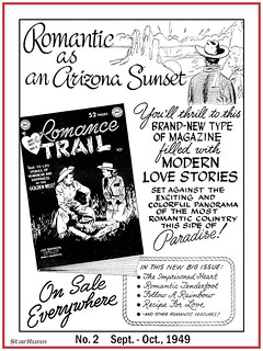 Romance Trail - No. 2  Sept. - Oct., 1949