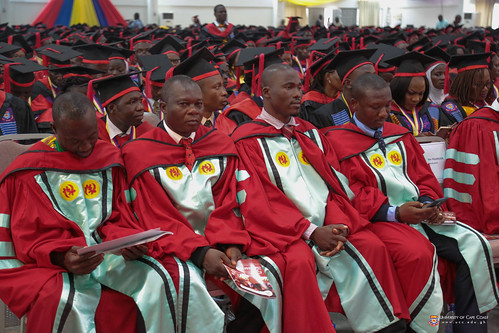 A cross section of PhD graduands