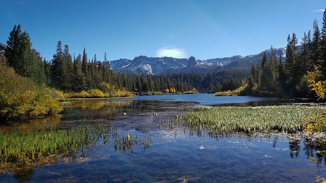 Twin Lakes in Autumn