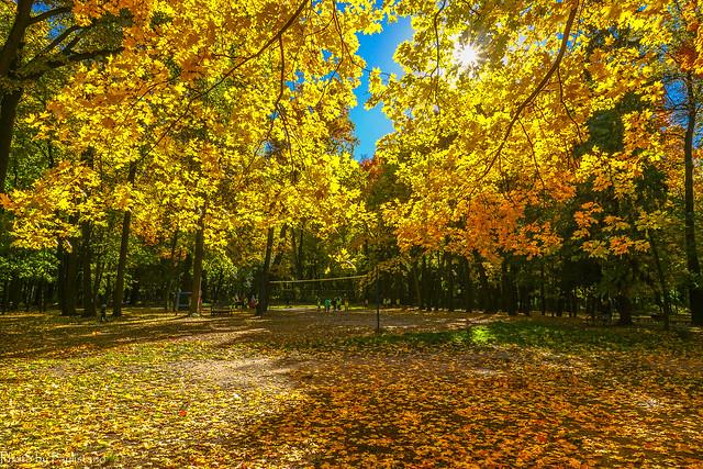 October in Tsaritsyno Park / Октябрь в Царицыно