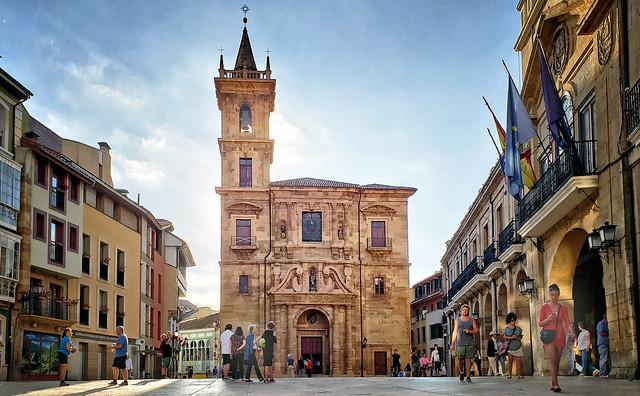 Church in Oviedo, Spain