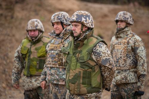 """Noslēdzas starptautiskās militārās mācības """"Bastions 2018""""   by Latvijas armija"""