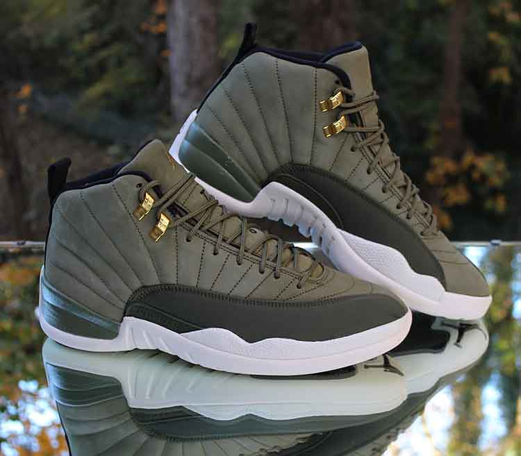 separation shoes 4ad1e a23ab Air Jordan 12 Retro Chris Paul CP3 Class of 2003 Olive 130 ...