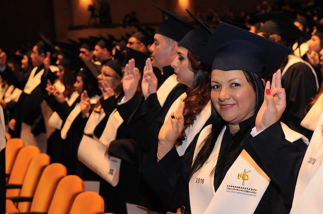 5ª, 6ª y 7ª Ceremonia de Graduación de UVD - 2018