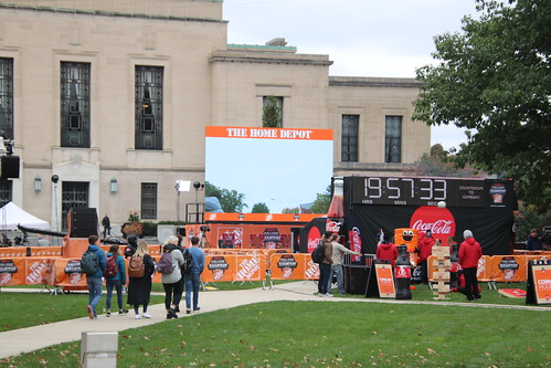 Setting up for ESPN College GameDay (University of Michigan, Ann Arbor) - October 12, 2018 | by cseeman