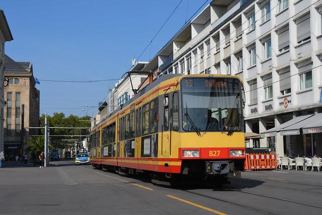 Duewag GT8-100C/2S #827
