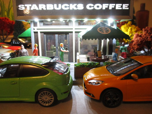 O Scale Starbucks | by IFHP97
