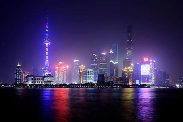 Shanghai's skyline in 2016