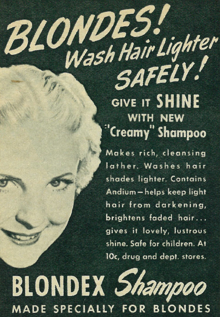 Image result for hair products 1950