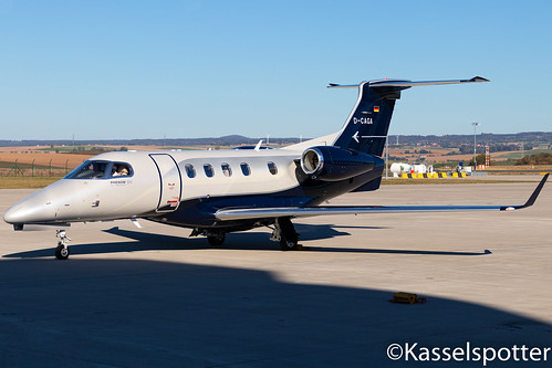Embraer 505 Phenom 300 D-CAGA 30.09.2018 | by Kasselspotter