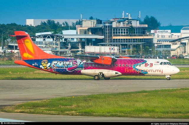 [PEN.2018] #Firefly #FY #ATR #ATR42 #9M-FYL #Fantasia.Aquapark #awp