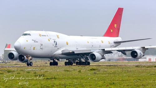 Air Cargo Global Boeing B747-4F  OM-ACG   by SjPhotoworld