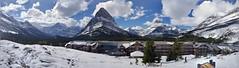 Many Glacier Lodge Panorama 2