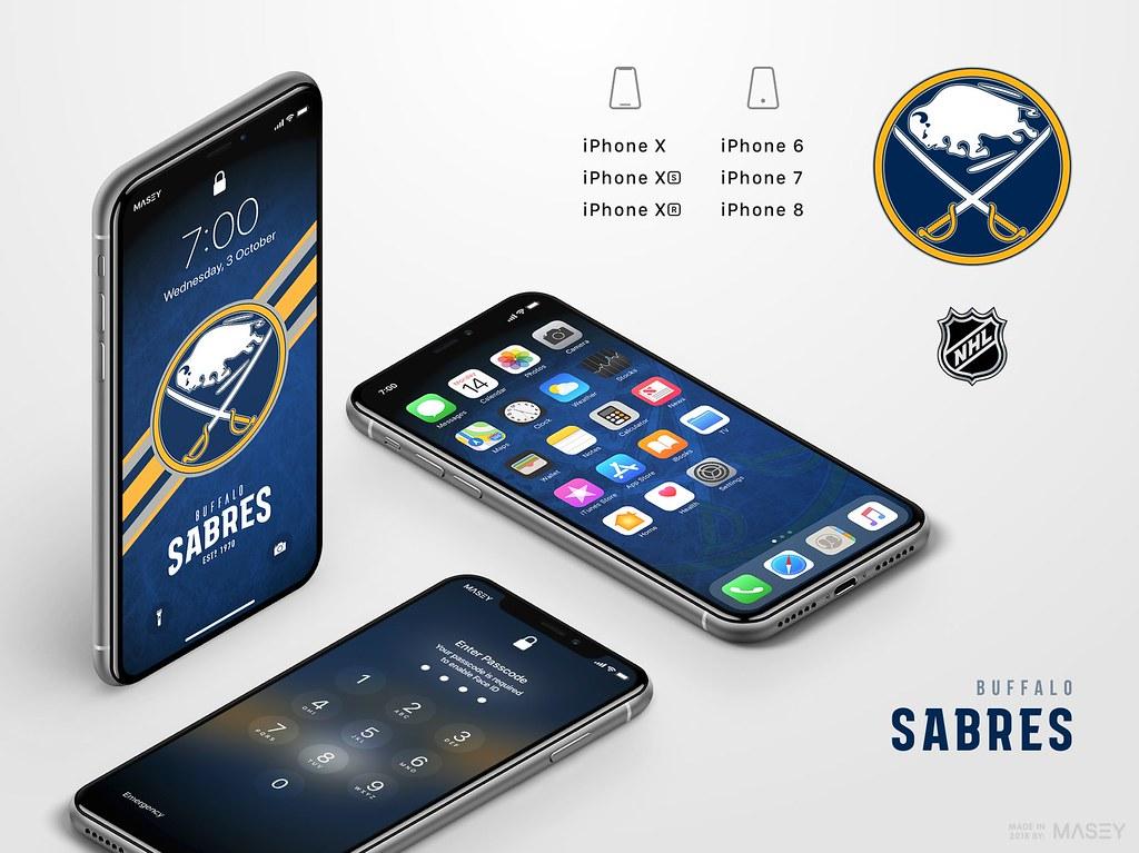 Buffalo Sabres iPhone Wallpaper