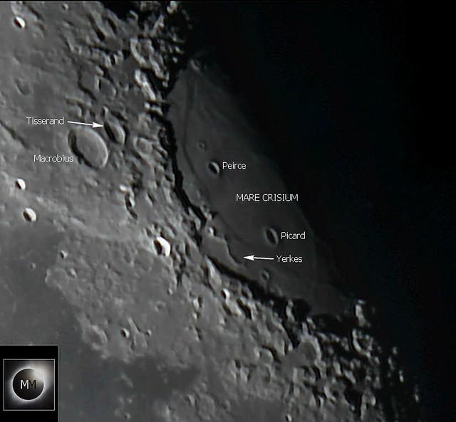 Lunar Mare Crisium & Surrounding Craters 26/10/18