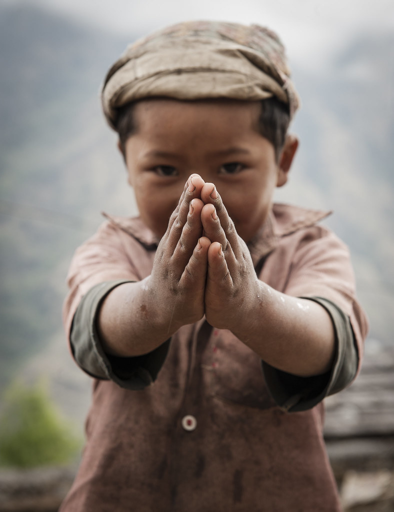 Nepal   Namaste   Cyrille M.   Flickr