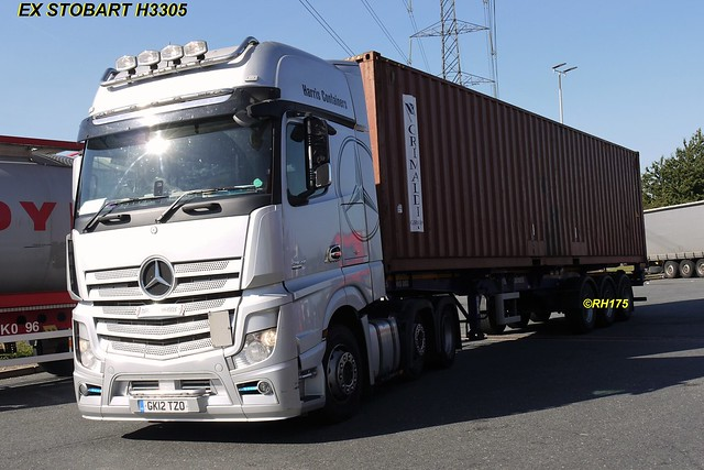 Mercedes Actros / Ex Stobart H3305 - Thurrock