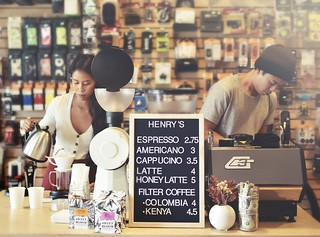 Michelle and Henry - Henry's Coffee, Santa Clarita | by r.e. ~