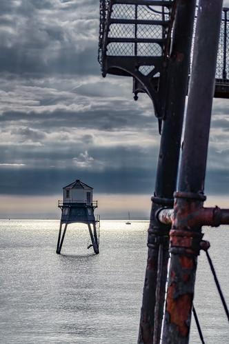england engeland vuurtoren lighthouse zee sea harwich dovercourt