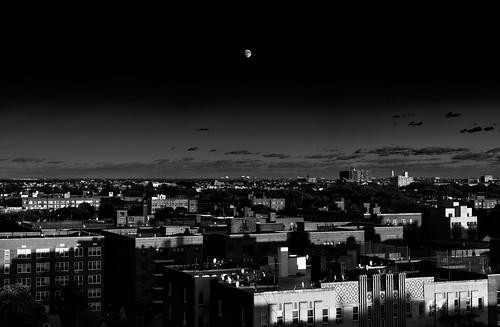Moonrise Over Brooklyn Redux | by AMRosario