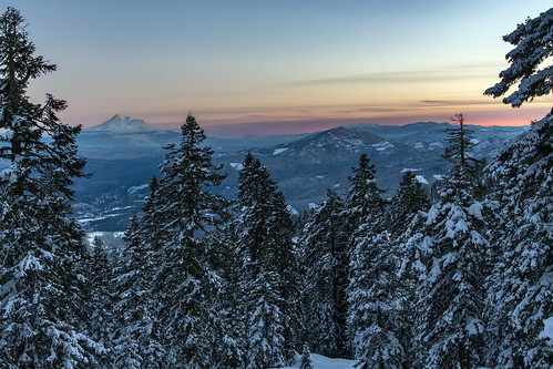 christmas mt ashland snow sunset shasta nikon d500 nikkor 24120mm f4g winter southern oregon northern california state jefferson al case