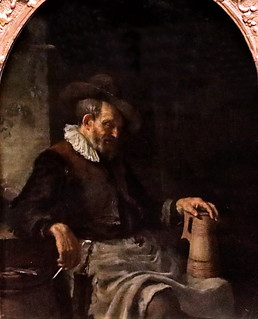 IMG_6702 Gerrit Dou 1613-1675. Leiden. The old man with the jug Le ...