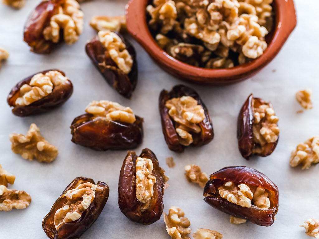 Image result for dates ׳with nuts