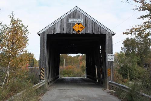 dumbarton newbrunswick canada bridge coveredbridge