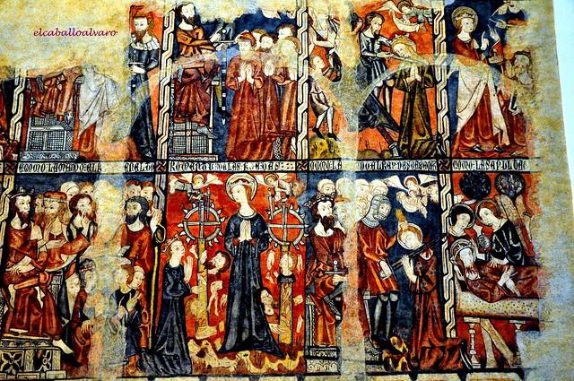 607 - Pinturas Interior - Iglesia San Sebastian de los Caballeros - Toro (Zamora) - Spain.