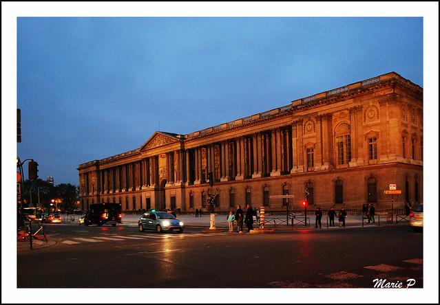 Paris, le Louvre.