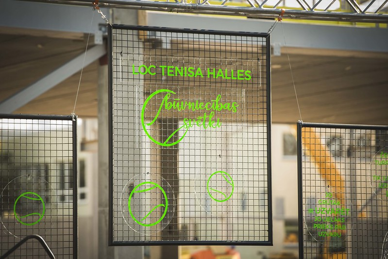 Liepājas tenisa halles būvniecība, 2018.gada 4.oktobris