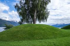 Viking grave mounds